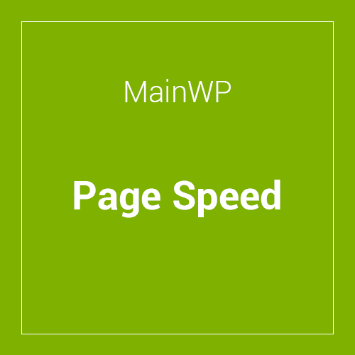 MainWP-Page-Speed-Extension-4.0.1
