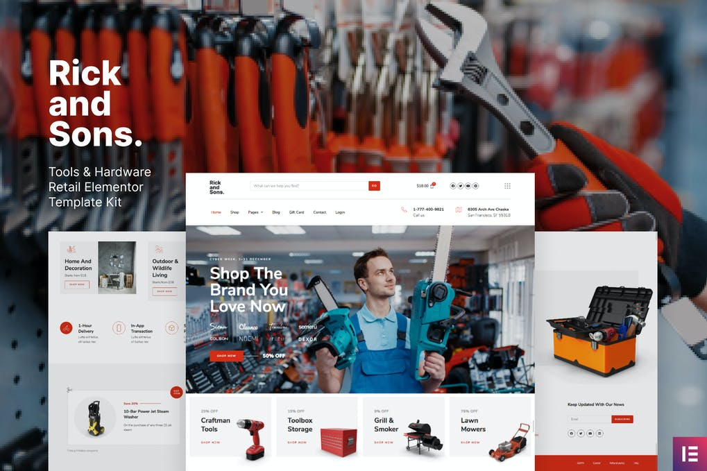 Rick-and-Sons-–-Tools-Hardware-Retail-WooCommerce-Template-Kit