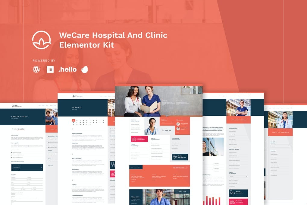 WeCare - Hospital And Clinic