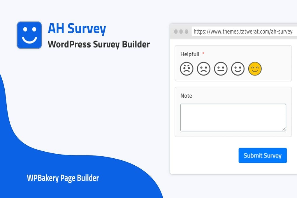 WordPress Survey Builder With Questions Types